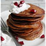 Placuszki kasztanowo jabłkowe bez glutenu, mleka i jajek