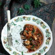 Dietetyczna potrawka z kurczaka z warzywami