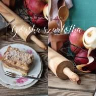 Szarlotka z tartymi jabłkami. Górska szarlotka.