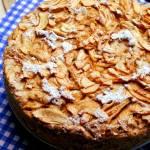 Najlepsze owsiane ciasto z jabłkami bez tłuszczu