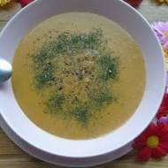Pieczarkowa zupa krem z mlekiem kokosowym