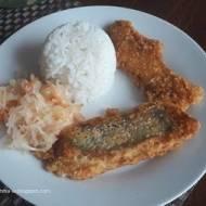 Ryba w cieście sezamowym