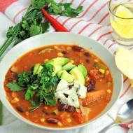 Warzywna zupa meksykańska