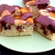 Błyskawiczne ciasto z brzoskwiniami