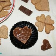 Ciasteczka kokosowe w czekoladzie