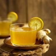 Kisiel cytrynowy z imbirem i miodem