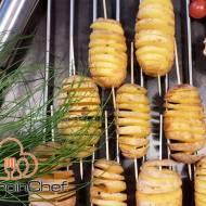 Pieczone ziemniaki: spiralki z ziemniaków