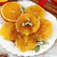 Pomarańcze z miodem i cynamonem - deser marokański