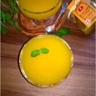 Pomarańczowy kisiel z cytrynowo-imbirową nutą (idealny na przeziębienie)