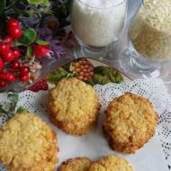 Ciasteczka jaglano - kokosowe