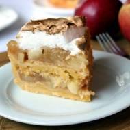 Łatwy jabłecznik przekładany ciastem kruchym