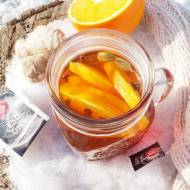 Herbatka zimowa z chili i imbirem