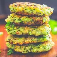 placki z cukinii z quinoa (paleo bezglutenu)