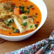 Zupa pomidorowa z mintajem