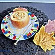 Pieczone, nadziewane jabłka