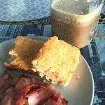 Kalafiorowe pieczywo / ciasto LCHF