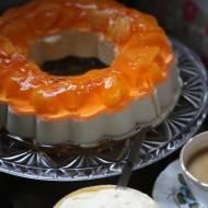 Deser z super masą i pomarańczami