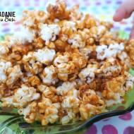 Karmelowy popcorn jak w kinie