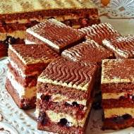 Kremowe ciasto cappuccino