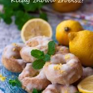 Ciastka cytrynowe z lukrem