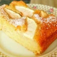 Ciasto jogurtowe z jabłkiem