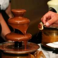 Czekoladowa fontanna, czyli ślub pełen słodyczy