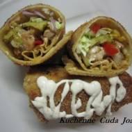 Krokiety z Kebabem