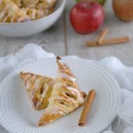 Rożki z jabłkami