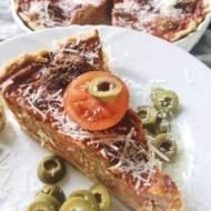 Tarta pomidorowa z klopsikami