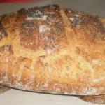 Chleb z garnka pszenno-razowy z ziarnami-najlepszy domowy chleb