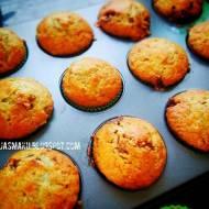 Muffinki bananowe ze snickersem (babeczki bananowe)