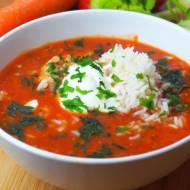 Zupa pomidorowa z passatą / przecierem pomidorowym