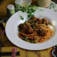 Spaghetti Meatballs – Spaghetti z Klopsikami