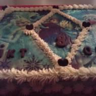 Tort Kraina Lodu dla Wiktorii