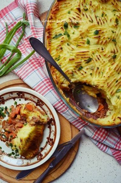 Zapiekanka pasterska - brytyjska królowa comfort foodu