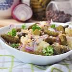 Sałatka ziemniaczana z karparami