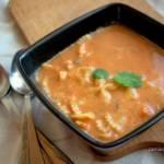 Zupa z czerwonych warzyw