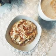 Domowe masło z nerkowców + jaglanka na mleku z miodem