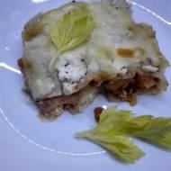Lasagne z rozmarynem i twarogiem