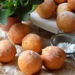 Pączki w 5 minut (serowe, z twarogu)