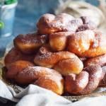Zakręcone pączki / Twisted doughnuts