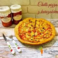 Chilli pizza z kurczakiem