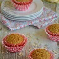 Fit muffinki z płatkami owsianymi i bananami