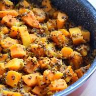 Komosa ryżowa z warzywami - wegańska i bezglutenowa :)
