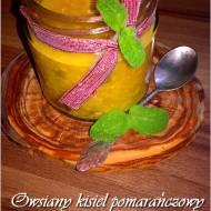 Owsiany kisiel pomarańczowy z miechunką. Bogactwo witaminy C.