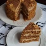 Wegański tort o smaku Inki i orzechów