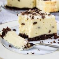 Aksamitny sernik z czekoladą i kilka wskazówek jak upiec idealny sernik