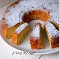 Maślane ciasto z jabłkami