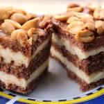 Ciasto snickers - bez pieczenia!