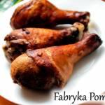 Pieczone pałki kurczaka z imbirem